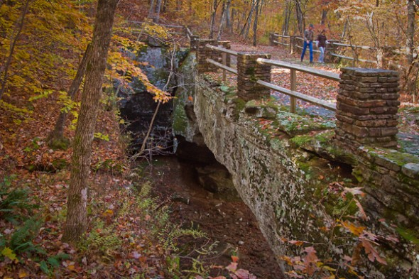 "Alum Cove National Recreation Trail ""Nautural Bridge"" in the Ozark National Forrest Arkansas."
