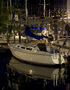 Marina at Mountain Harbor Resort Lake Ouachita AR.  1 min 6 sec f/9