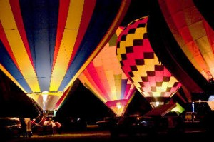 Illinois River Balloon fest Tahlequah  OK  1/50 Sec. F5.6