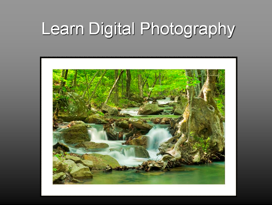 Learn Digital Photography Class Announced – Greg Disch ...