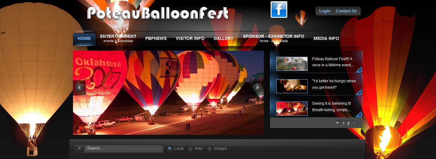 poteau balloon fest