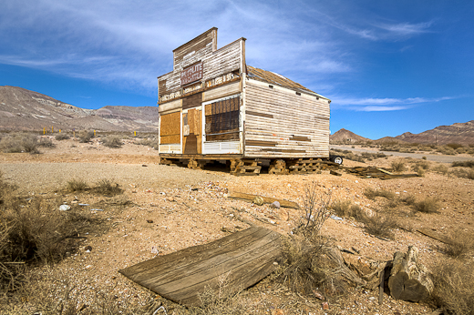 Rhyolite Nevada Ghost Town