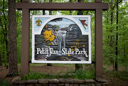 Petit Jean State Park near Morilton Arkansas.