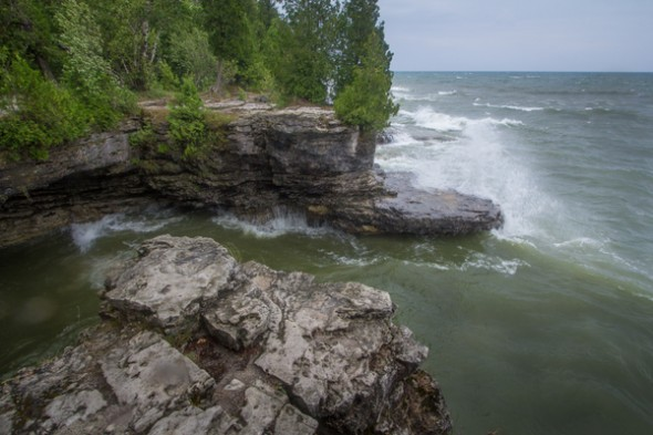 Cave Point  County Park Door County Wisconsin 20120719-IMG_6731-