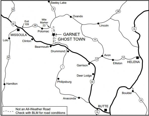 Garnet Map