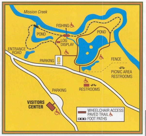 NBR Nature Trail map