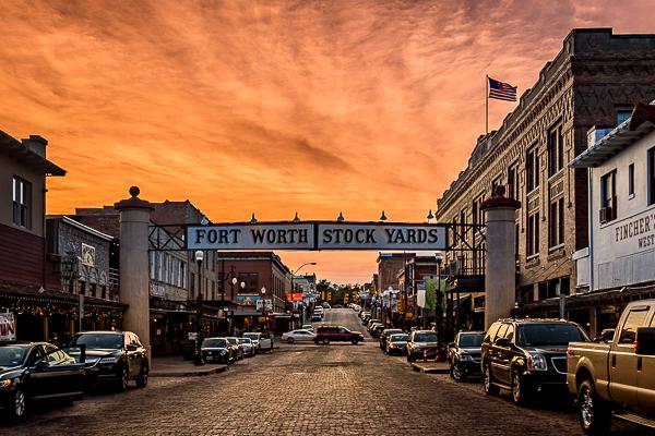 Fort Worth Stockyards – Greg Disch Photography