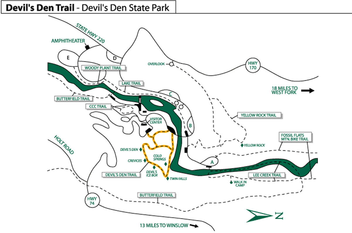 Devils Den Arkansas Map.Devil S Den State Park Arkansas Greg Disch Photography