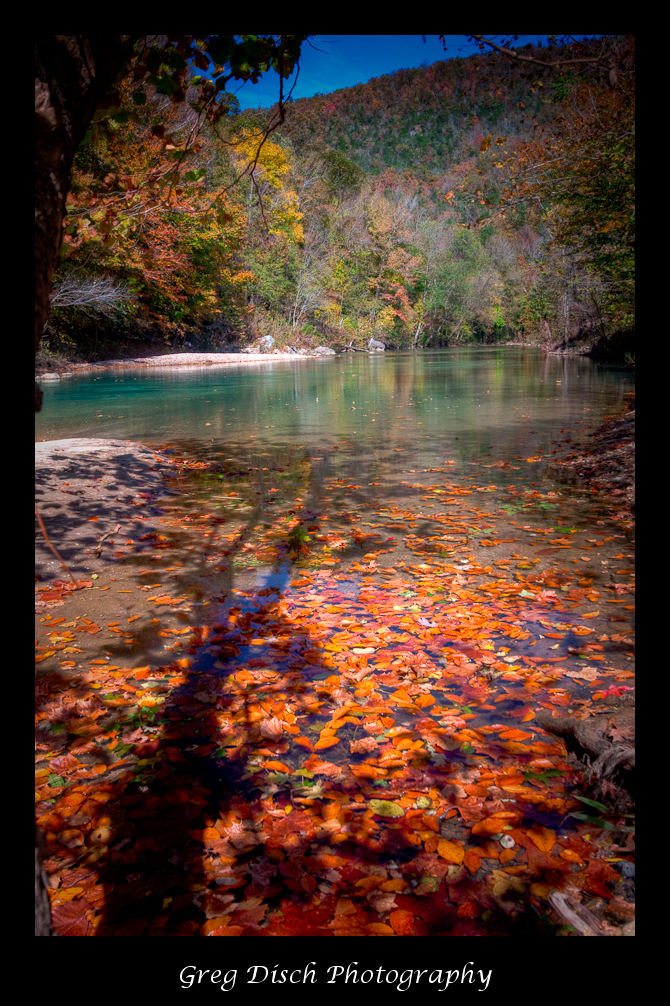 Fall Canoe Trip On The Buffalo National River Greg Disch